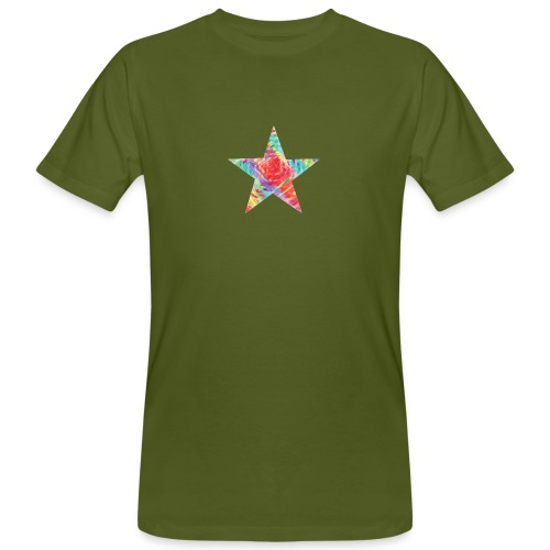 Color star of david - Men's Organic T-Shirt