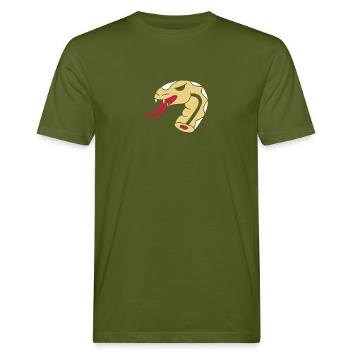 Schlangen Snakes Schlangenkopf Kopf Head Snakehead - Männer Bio-T-Shirt
