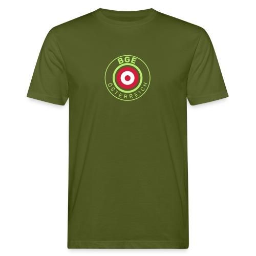 BGE in Österreich mit Fahne - Männer Bio-T-Shirt