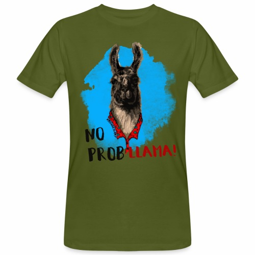 No probllama! - T-shirt ecologica da uomo