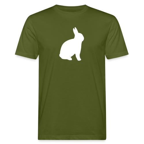T-shirt personnalisable avec votre texte (lapin) - T-shirt bio Homme
