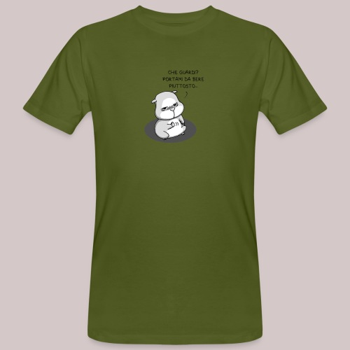 drunk_Hamster - T-shirt ecologica da uomo