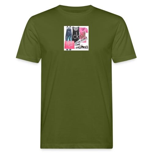 outfit pace e amoreio amo il colore - T-shirt ecologica da uomo