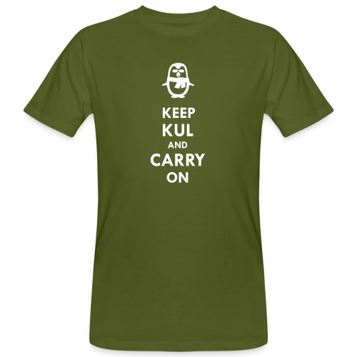 Keep KUL and carry on Bua - Männer Bio-T-Shirt