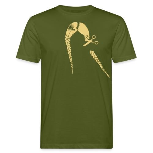 Greta FFF Fridays for future & Fridays for Hubraum - Männer Bio-T-Shirt