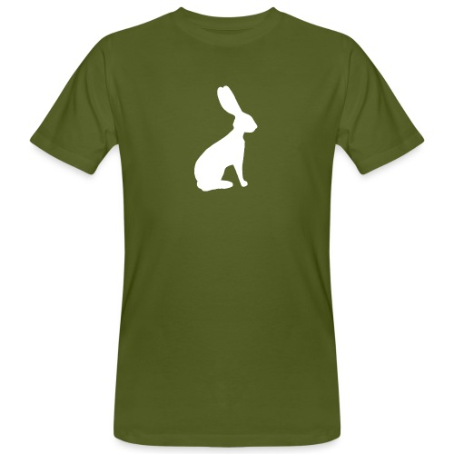 T-shirt personnalisable avec votre texte (lievre) - T-shirt bio Homme