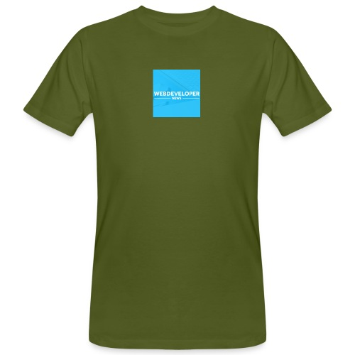 Web developer News - Männer Bio-T-Shirt