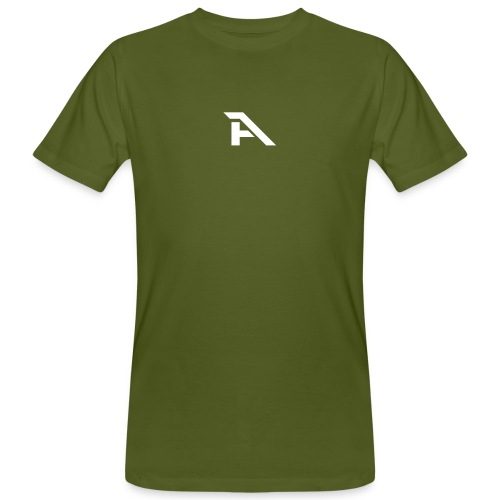 Aura Logo-(P. & White) - T-shirt ecologica da uomo
