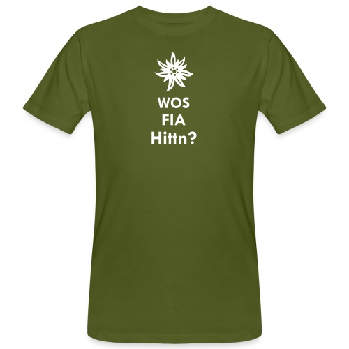 WOS FIA Hittn? - Männer Bio-T-Shirt