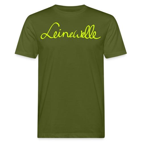 leinewelle Logo - Männer Bio-T-Shirt