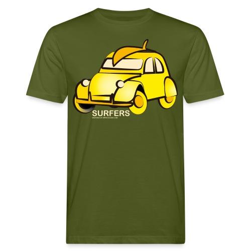 surferyellowcar0101 - Camiseta ecológica hombre