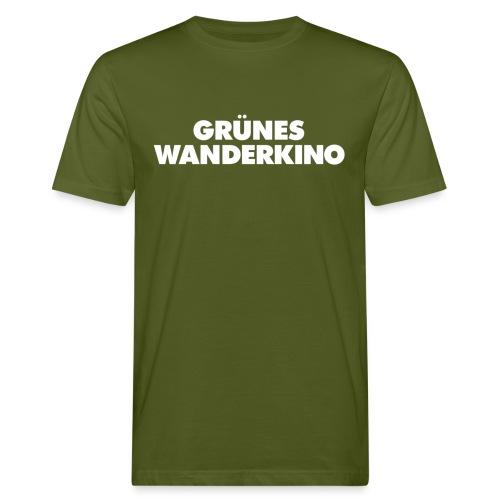 GRÜNES WANDERKINO - Männer Bio-T-Shirt