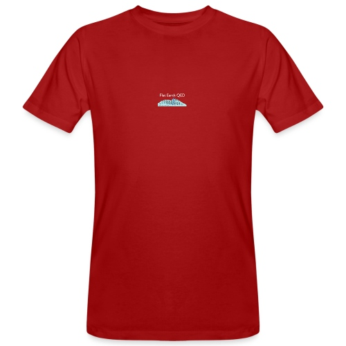 Flat Earth QED - Men's Organic T-Shirt
