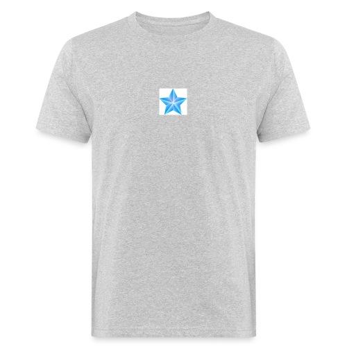 blue themed christmas star 0515 1012 0322 4634 SMU - Men's Organic T-Shirt