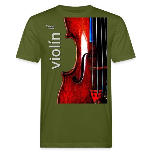 Violín i - Camiseta ecológica hombre