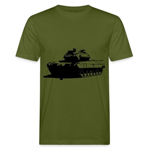 Leopard 2 Kampfpanzer - Stridsvagn 122 - Ekologisk T-shirt herr