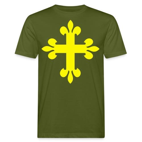 Jølster blank png - Økologisk T-skjorte for menn