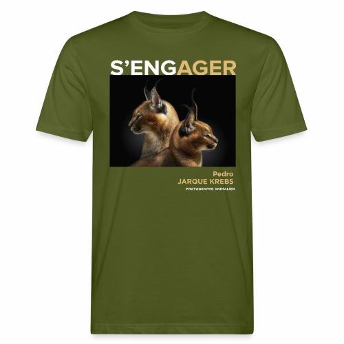 1 Achat = 1 Don à l'association Rainfer - T-shirt bio Homme