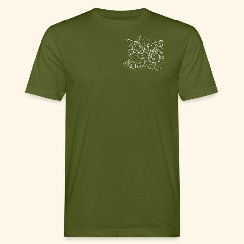 Schaf - Miss you weiß - Männer Bio-T-Shirt