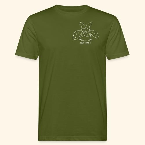 Bock schauen - weiß - Männer Bio-T-Shirt