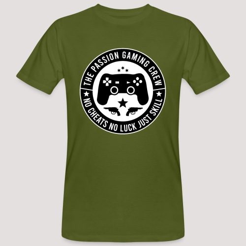 The Passion Gaming Crew - Männer Bio-T-Shirt