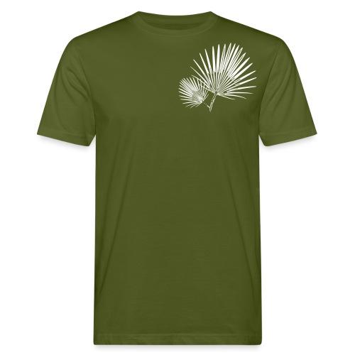 Palmblatt - Männer Bio-T-Shirt