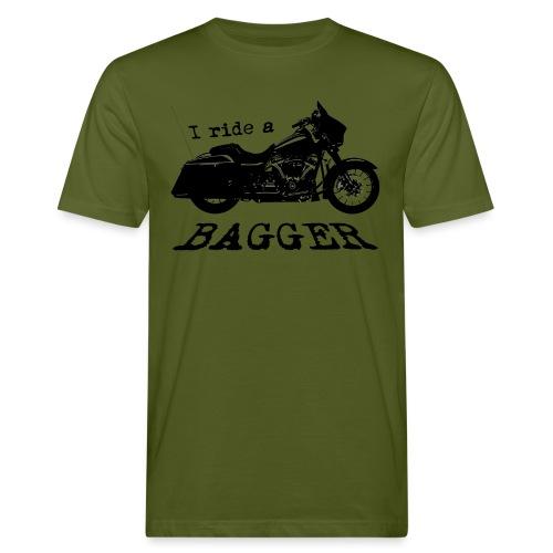 I ride a bagger - sort - Organic mænd