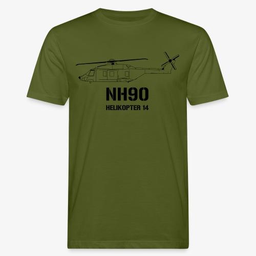 Helikopter 14 - NH 90 - Ekologisk T-shirt herr