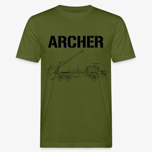 Artillerisystem ARCHER - Ekologisk T-shirt herr