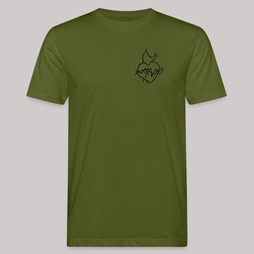 Sagrado Corazón de Jesús - Camiseta ecológica hombre