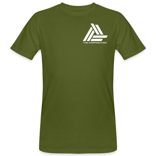 The Corporation LOGO - Men's Organic T-Shirt
