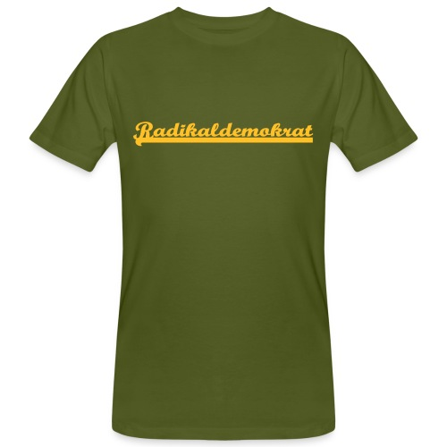 Radikaldemokrat - Männer Bio-T-Shirt