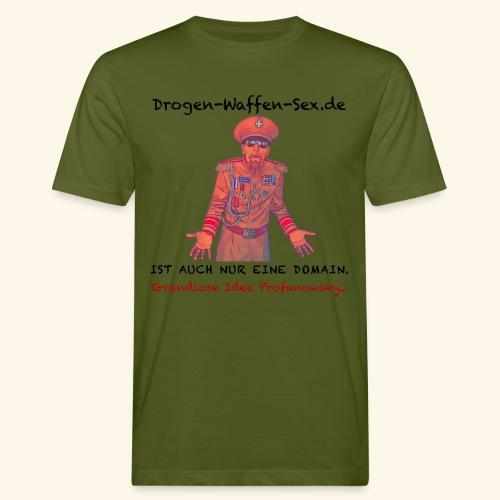 Drogen-Waffen-Sex - Männer Bio-T-Shirt