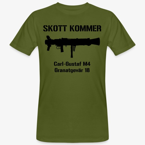 SKOTT KOMMER - KLART BAKÅT - SWE Flag - Ekologisk T-shirt herr