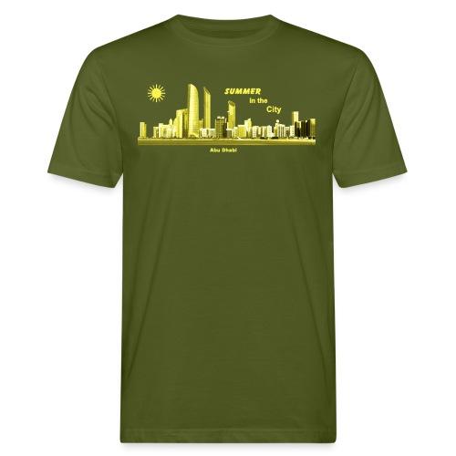 Abu Dhabi Emirate Summer - Männer Bio-T-Shirt