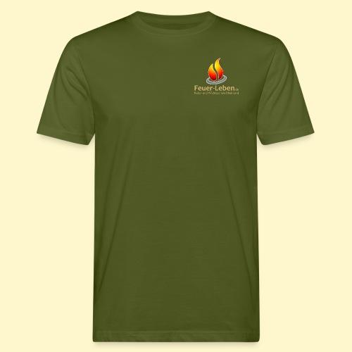 T-Shirt front hell - Männer Bio-T-Shirt