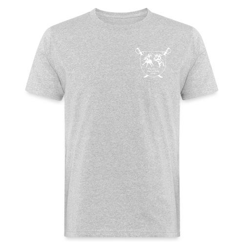 logo miekallinen vastaväri - Miesten luonnonmukainen t-paita