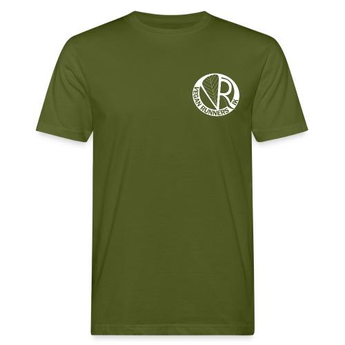 VeganRunners Logga gif - Ekologisk T-shirt herr