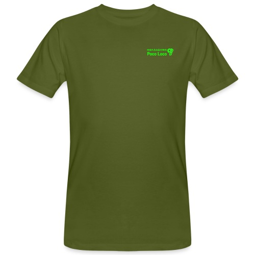 poco loco creations green - Men's Organic T-Shirt