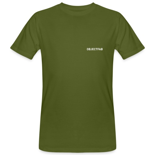 objectfab1color - Männer Bio-T-Shirt