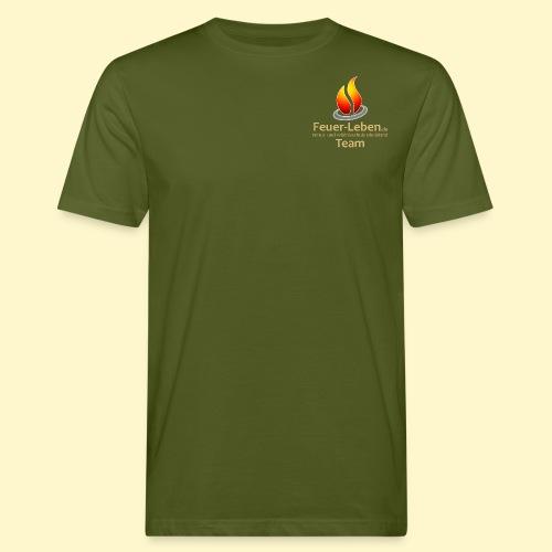 T-Shirt front Team hell - Männer Bio-T-Shirt