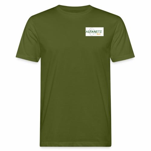 Alpanetz Logo Sport - Männer Bio-T-Shirt
