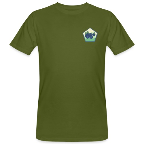 The blueberry forest - Ekologisk T-shirt herr