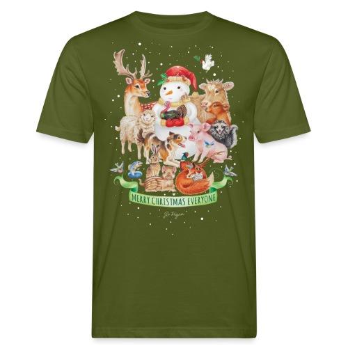 Vegan Christmas - Men's Organic T-Shirt