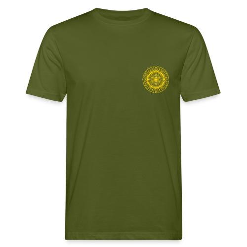 Ursonne des Lebens gold - Männer Bio-T-Shirt