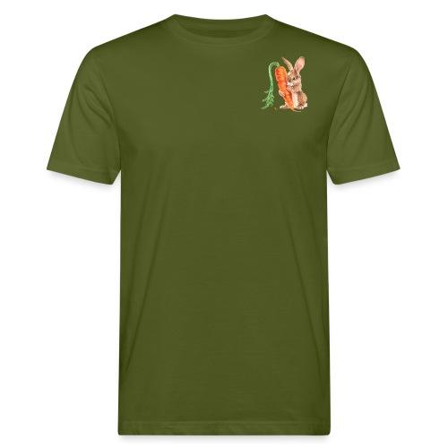 konijntje met wortel - Men's Organic T-Shirt