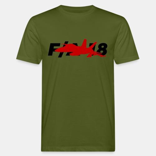 F/A-18 Super Hornet   F 18   F18   F/A18   Hornet - Men's Organic T-Shirt