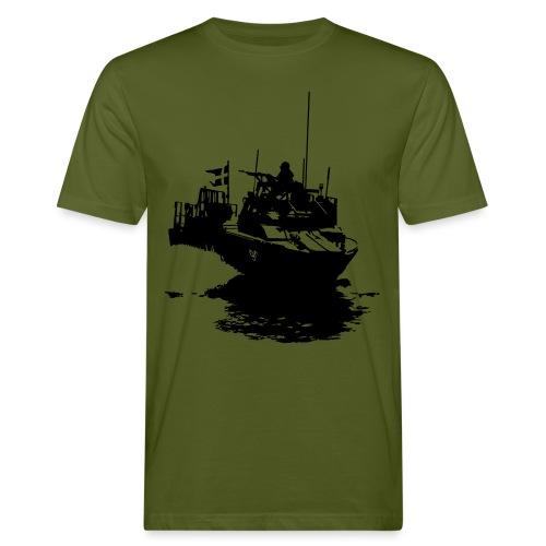 Combat Boat 90 - Stridsbåt 90 - Ekologisk T-shirt herr