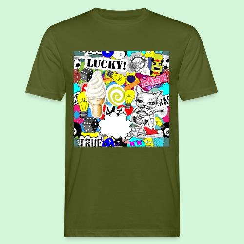 Stickers #2 - Männer Bio-T-Shirt