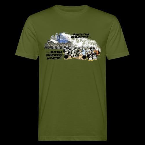 tux demo - Männer Bio-T-Shirt